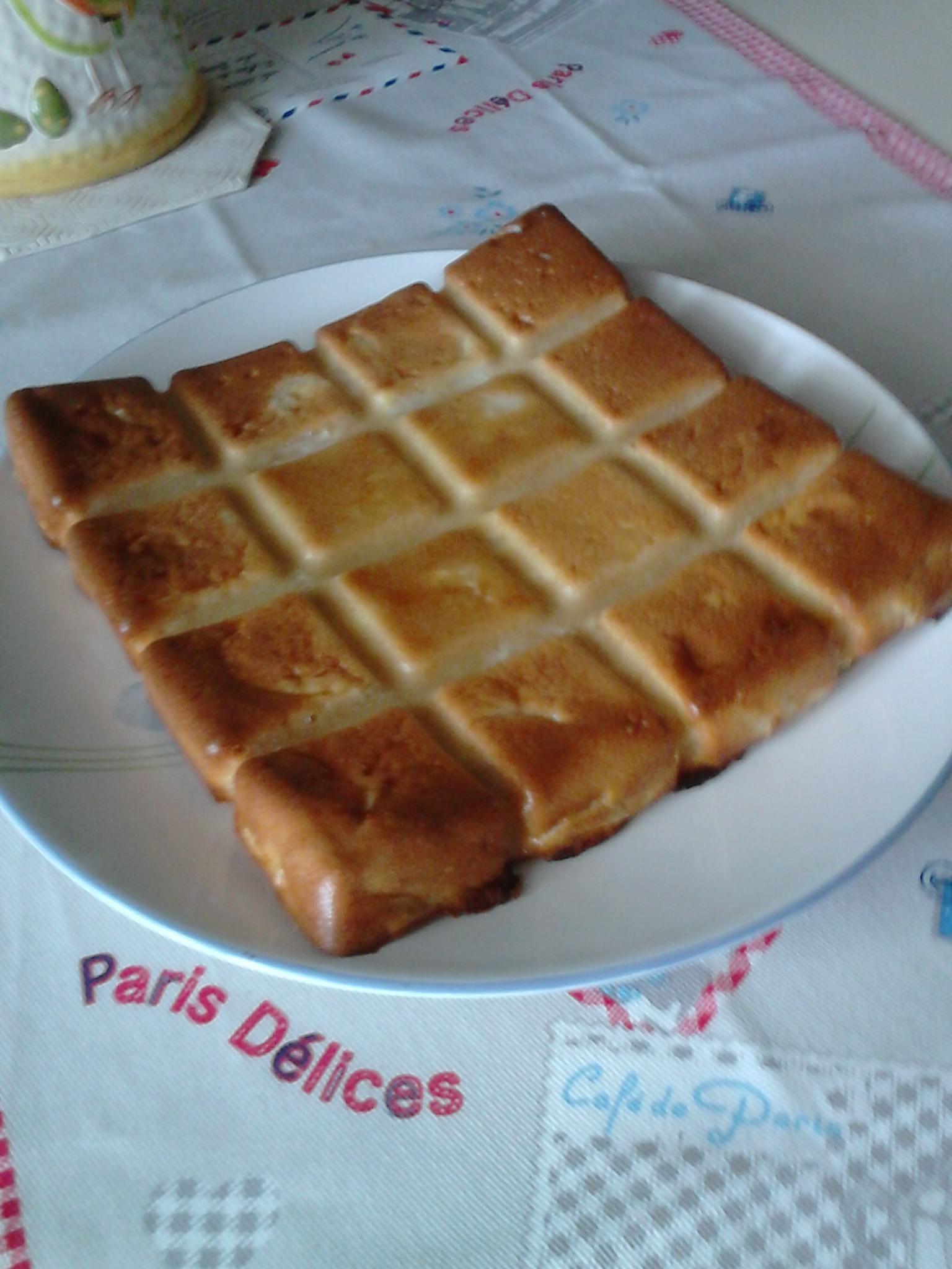 Invisible aux pommes lacuisinedechanchan - Cuisine invisible ...
